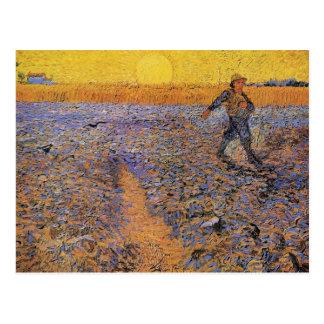 The Sower by Vincent van Gogh Postcards