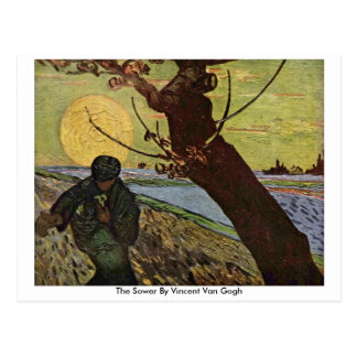 The Sower By Vincent Van Gogh Postcards