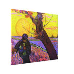 The Sower ~ Vincent van Gogh Gallery Wrapped Canvas