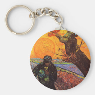 The Sower, Vincent Van Gogh Key Chain
