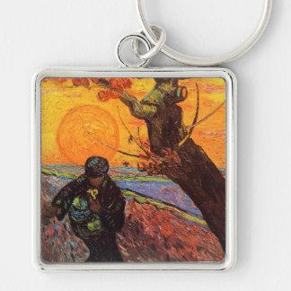 The Sower, Vincent Van Gogh Key Chains