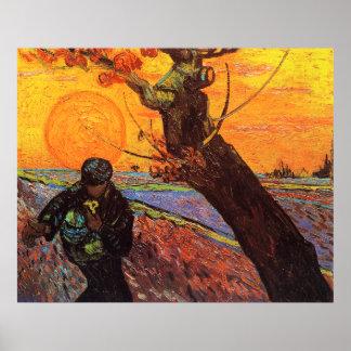 The Sower, Vincent Van Gogh Poster