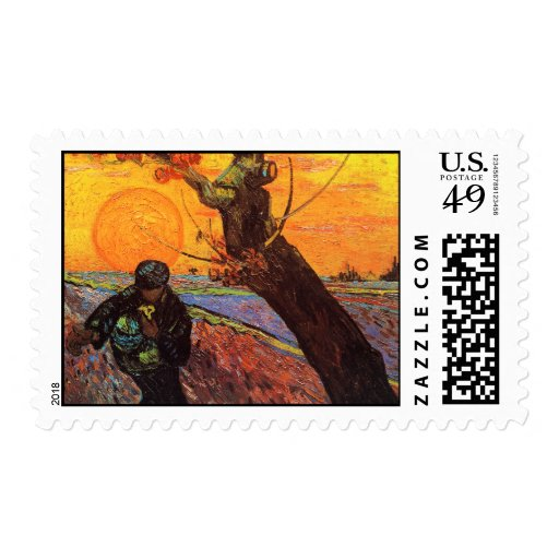 The Sower, Vincent Van Gogh Stamps