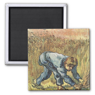 The sower with sickle by Vincent van Gogh Magnet