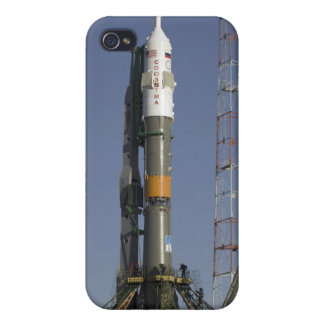 The Soyuz rocket is erected into position 2 Cases For iPhone 4