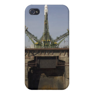 The Soyuz rocket is erected into position 3 iPhone 4/4S Cases