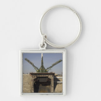 The Soyuz rocket is erected into position 3 Key Chains