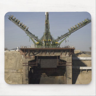 The Soyuz rocket is erected into position 3 Mousepads