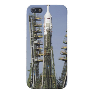 The Soyuz rocket is erected into position 4 Cover For iPhone 5