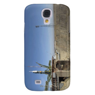 The Soyuz rocket is erected into position 5 Galaxy S4 Cases