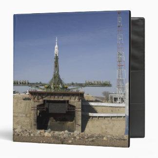 The Soyuz rocket is erected into position 6 Binder