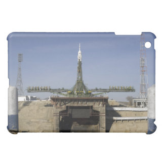 The Soyuz rocket is erected into position 6 iPad Mini Cover