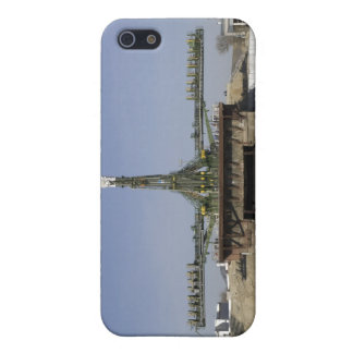 The Soyuz rocket is erected into position 6 iPhone 5 Cover