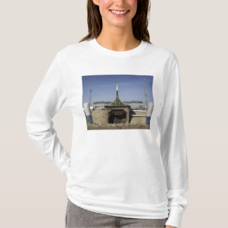 The Soyuz rocket is erected into position 6 T-Shirt