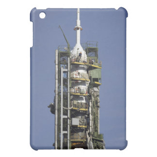 The Soyuz rocket is erected into position iPad Mini Covers