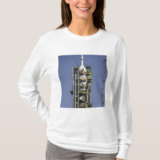 The Soyuz rocket is erected into position T-Shirt