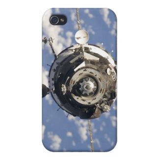 The Soyuz TMA-01M spacecraft iPhone 4 Cover