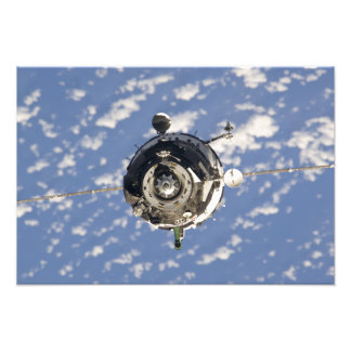 The Soyuz TMA-01M spacecraft Photo Print