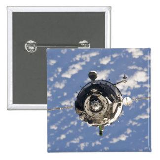 The Soyuz TMA-01M spacecraft Pinback Button