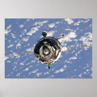 The Soyuz TMA-01M spacecraft Poster