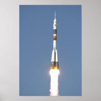 The Soyuz TMA-12 spacecraft Print