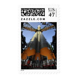 The Soyuz TMA-13 spacecraft 2 Postage
