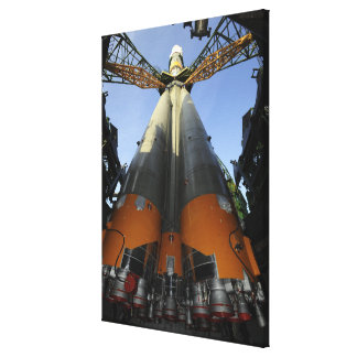 The Soyuz TMA-13 spacecraft Gallery Wrap Canvas
