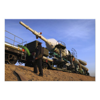 The Soyuz TMA-13 spacecraft Photo Print