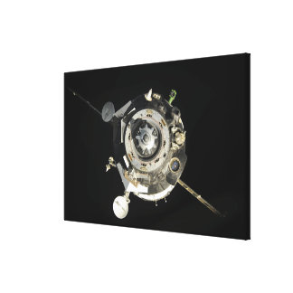 The Soyuz TMA-17 spacecraft Stretched Canvas Prints