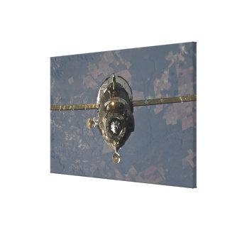 The Soyuz TMA-19 spacecraft 3 Canvas Prints