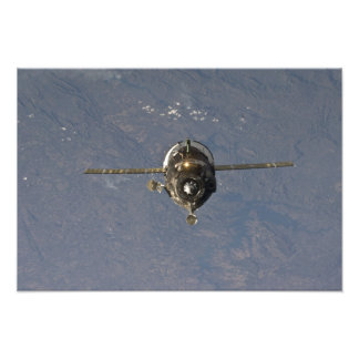 The Soyuz TMA-19 spacecraft Photo Art