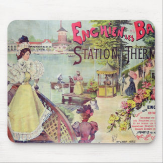 The spa resort of Enghien-les-Bains, France Mouse Pad