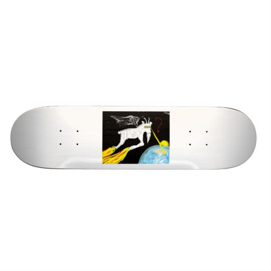 The Space Goat Skateboard Deck
