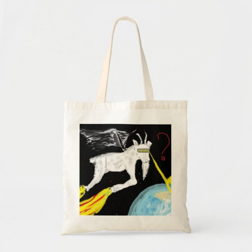 The Space Goat Tote Bag