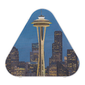 The Space Needle and downtown Seattle Bluetooth Speaker