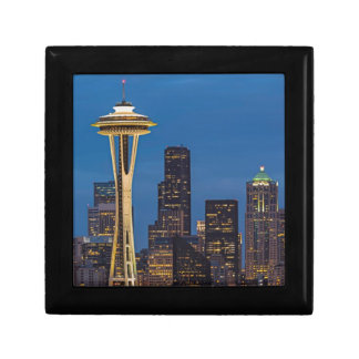 The Space Needle and downtown Seattle Jewelry Boxes