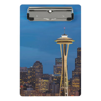 The Space Needle and downtown Seattle Mini Clipboard