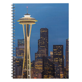 The Space Needle and downtown Seattle Notebook