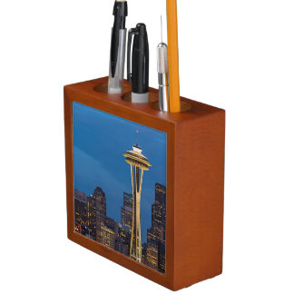 The Space Needle and downtown Seattle Pencil Holder