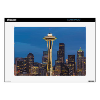 The Space Needle and downtown Seattle Skin For Laptop