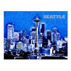 The Space Needle - Seattle, Washington Postcard