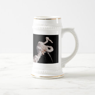 The Space Shuttle Challenger Disaster Beer Stein