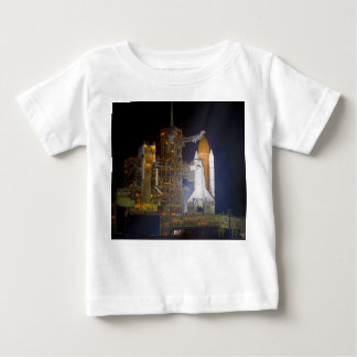 The Space Shuttle Discovery at Launch Pad 39A Baby T-Shirt