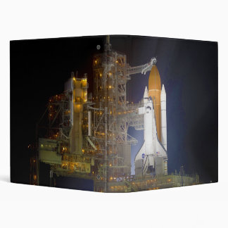 The Space Shuttle Discovery at Launch Pad 39A Vinyl Binder