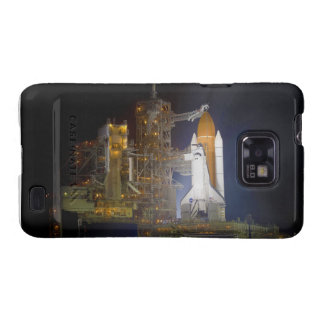 The Space Shuttle Discovery at Launch Pad 39A Samsung Galaxy S Case