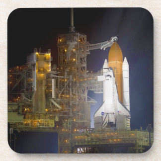 The Space Shuttle Discovery at Launch Pad 39A Coaster
