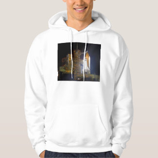 The Space Shuttle Discovery at Launch Pad 39A Hoody