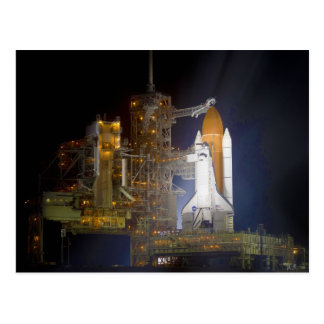 The Space Shuttle Discovery at Launch Pad 39A Postcards