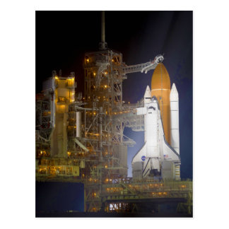 The Space Shuttle Discovery at Launch Pad 39A Postcard