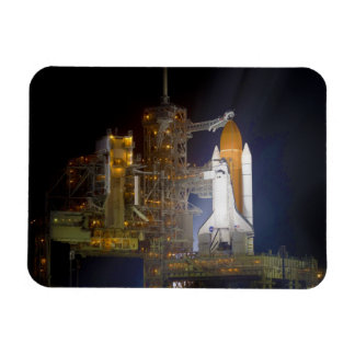 The Space Shuttle Discovery at Launch Pad 39A Magnets